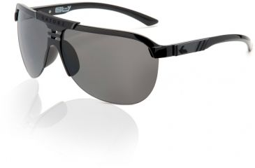 Gatorz Elyflight Sunglasses, Grey Lens, Black Frame ELFBLK01