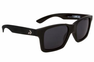 Gatorz Iamblk01Bk Iam Black Frame Grey Lens Sunglasses