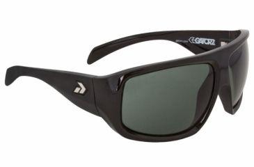 Gatorz Oloblk17Bk Olo Black Frame Green Lens Sunglasses