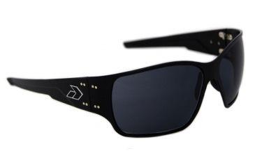 Gatorz Ragblk01Bk Rage Black Frame Grey Lens Sunglasses