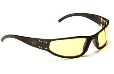 Gatorz Converter Sun Glasses, Black Frame, Yellow Lens