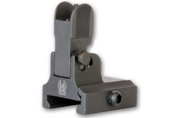 GG&G Flip Up Front Sight for AR-10 Dovetailed Lowered Gas Block w/ Tritium GGG-1323T