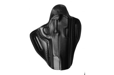 G&G B800-194 Open Top Two Slot Holster, Black, Right Hand - 1911-Style, 3-4.25in BBL