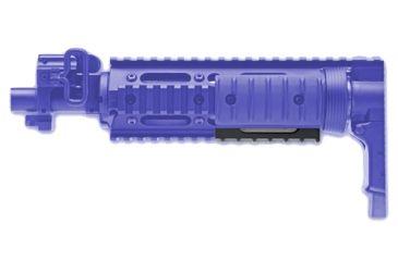 GG&G 12 & 6 o'clock Half Length Dovetail Rail for Tactical Modular Forearm
