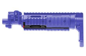 GG&G Half Length Offset Side Dovetail Rail for Modular Forearm
