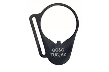 GG&G Receiver End Plate Sling Attachment, Rectangle for Left Hand GGG-1072L