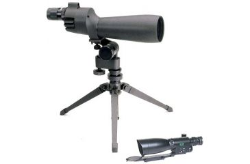 2-PC Night Hunting Scope Package - Bushnell Spotting Scope and ATN Night Vision Rifle Scope