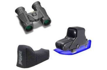 3-PC Fighter Military Gift Package - Steiner 10x26 Binoculars 236, EOTech HOLOgraphic Weapon Sight 511-A65 KIT, ScopeCoat EOTech Covers