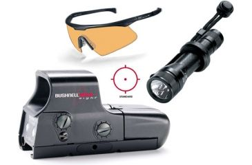 3-PC Perfect Vision Military Gift Package - Bushnell HOLOsight, Wiley X PT-1, Streamlight NF-2