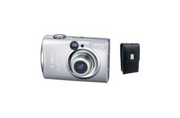2-PC Canon Powershot 7.1MP Digital Camera with Leather Case