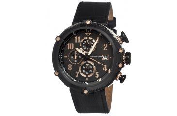 Giorgio Fedon 1919 Sport Utility Mens Watch, Black-Rose Gold GIOGFAV005