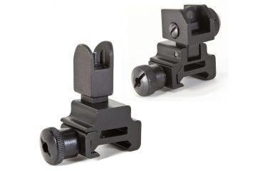 1-Global Military Gear Front and Rear Flip-up Sight Combo for AR15-M4