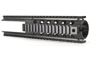 Global Military Gear Gm Qr1l Ar15 Quad Rail With Two Protruding Rails