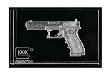 Glock Perfection Hologram Paperweight AS00016