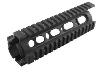 GMG AR15 Gas Piston Quad Rail, Carbine lengh, GM-GPQR1