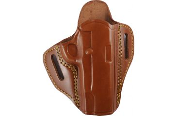 Gould & Goodrich 2 Slot Holster, Brown, Right 800194