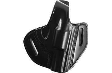 Gould & Goodrich 2 Slot Pancake Holster, Black, Right B80242LH