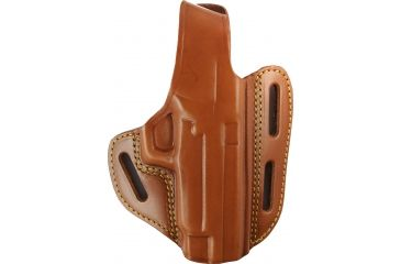 Gould & Goodrich 3 Slot Pancake Holster, Chestnut Brown, Right 803PX4