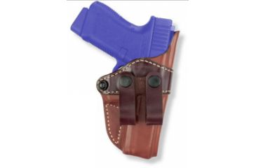 Gould & Goodrich IWB Holster, Chestnut Brown, Left Hand, Leather - Compact 1911 Pistols