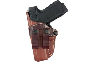 Gould & Goodrich 810 Inside Pants Holster, Brown, Left Hand - 1911-Style 4-4.5in BBL