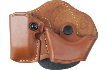 Gould & Goodrich 821-3 Cuff Case/Mag Case Combo, Chestnut Brown