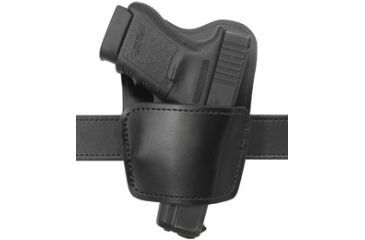 Gould & Goodrich 896-1 Ambidextrous Belt Holster with Removable Body Shield, Black, Sig P238 B896-1