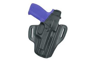 Gould & Goodrich B802-26R Two Slot Pancake Holster, Black