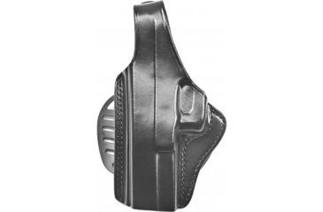 Gould & Goodrich B807-195LH Paddle Holster, Black, Left Hand - 1911-Style, 4.75-5in BBL