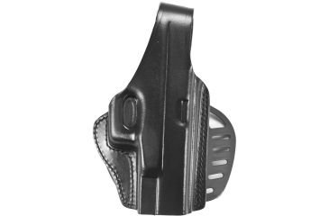 Gould & Goodrich B807-G19 Paddle Holster, Black, Right Hand - Glock 19/23/32