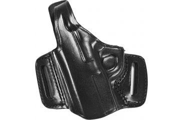 Gould & Goodrich B809 Belt Slide Leather Thumb Break Holster, Black, Left Hand - 1911 Type Pistols 4-5in bbl