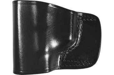 Gould & Goodrich B891 Belt Slide Holster, Black, Left Hand - Glock 17/22/31, Taurus PT 111