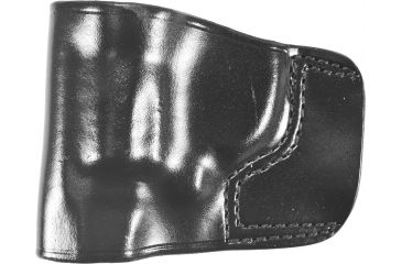Gould & Goodrich B891 Belt Slide Holster, Black, Left Hand - S&W J-Frame 2in BBL Rev