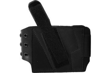 Gould & Goodrich BootLock Ankle Holster, Small Auto Pistols, Black, Left B416-1LH