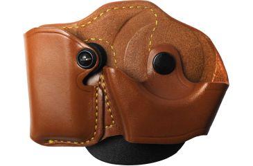 Gould & Goodrich 821-1 Cuff/Magazine Case, Right Hand, Brown - Beretta 83/85, Kahr Micro MK9 & Similar