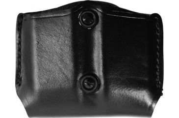Gould & Goodrich Double Magazine Case, Black B8313