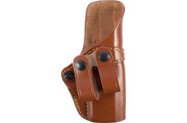 Gould & Goodrich Inside Pants Holster, Chestnut Brown, Right Hand - Glock 19, 23, 32 - 810-G19