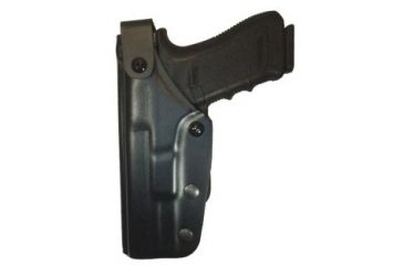 Gould & Goodrich K-Force Triple Retention Rotating Duty Holster, LH H391-G34CLLH