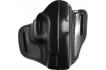 Gould Goodrich  Open Top Two Slot Holster, Black, Right, B800G19