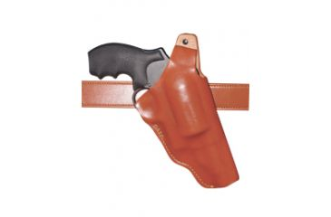 Gould & Goodrich Judge Holster, Brown, Right Hand - 2.5in Chamber, 2.5 to 3in Barrel 874-1