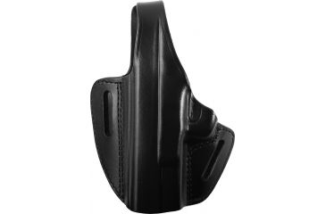 Gould Goodrich Two Slot Pancake Holster, Black, Left B802G30LH