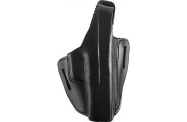 Gould & Goodrich Two Slot Pancake Holster, Black, Right B802G17