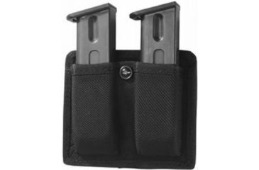 Gould & Goodrich X617-4 Double Magazine Pouch, Black, Glock 20/21/29