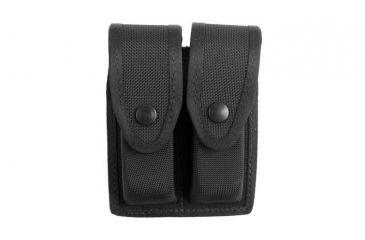 Gould & Goodrich X627-3 Double Magazine Case, Black Ballistic Nylon - Beretta 92/96