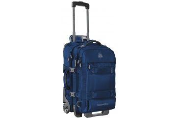 47e30985ee70 Granite Gear Cross Trek2 22 Carry-On Wheeled Duffel-Midnight Blue Flint