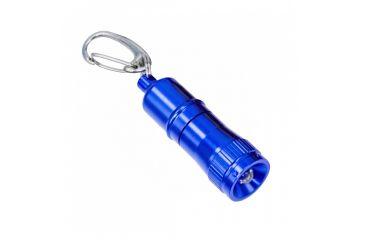 Greatlite 8 Lumens Mini Led Survival Light W Clip And Bat Blue 32826