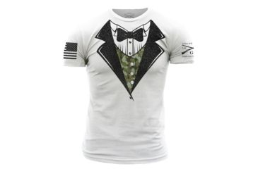 a769c773 Grunt Style Camo Tux Tee Shirt Men s Up to 10 Off Free Shipping