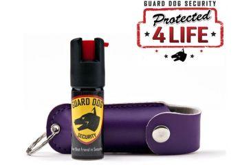 Guard Dog Security 1/2oz 18% OC Pepper Spray - Purple PS-GDOC18-1PR