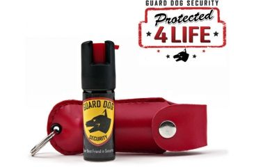 Guard Dog Security 1/2oz 18% OC Pepper Spray - Red PS-GDOC18-1RD