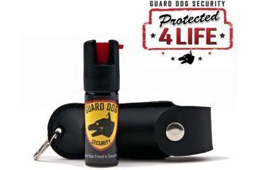 Guard Dog Security 1/2oz 18% OC Pepper Spray - Black PS-GDOC18-1BK