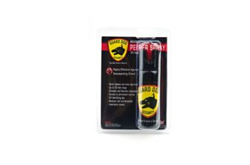 Guard Dog Security 3oz 18% Pepper Spray w/ Clamshell PS-GDOC18-3C